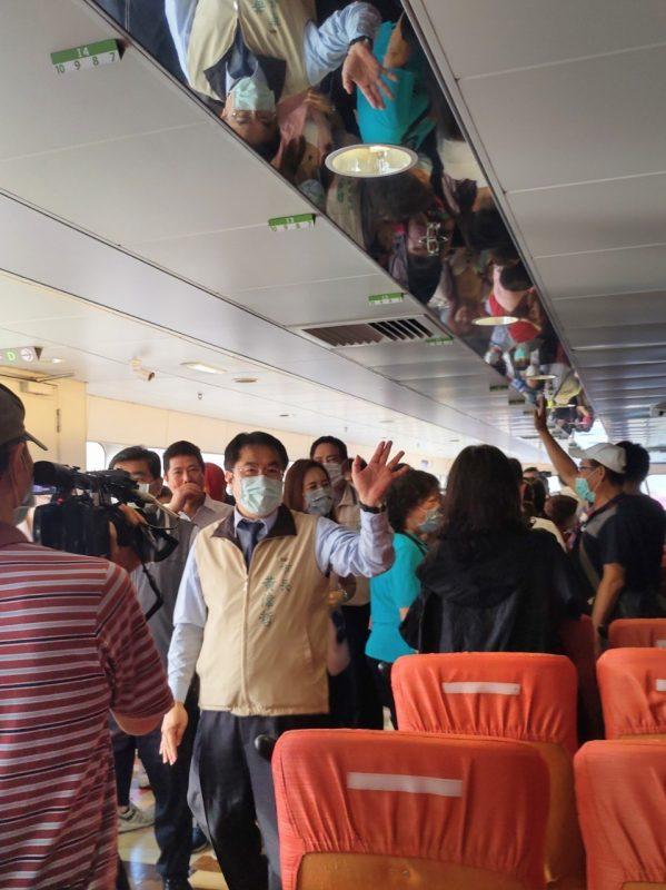 「麗娜輪」啟航搶攻國旅跳島旅行大餅  今日試營運開啟台南澎湖海上公路 @YA !野旅行-玩樂全世界