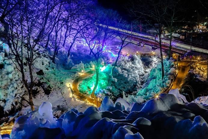 冬季限定三大冰柱巡禮在埼玉秩父
