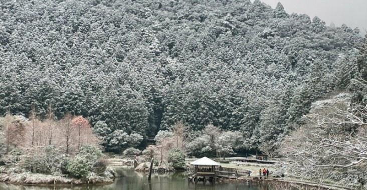 想上山賞雪的趕緊照過來 台7線明池山莊賞雪不用塞車 @YA !野旅行-玩樂全世界