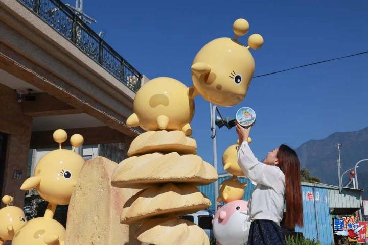 短腿阿鹿花蓮限定版 可可亞風味曲奇餅乾美味破表 @YA !野旅行-玩樂全世界