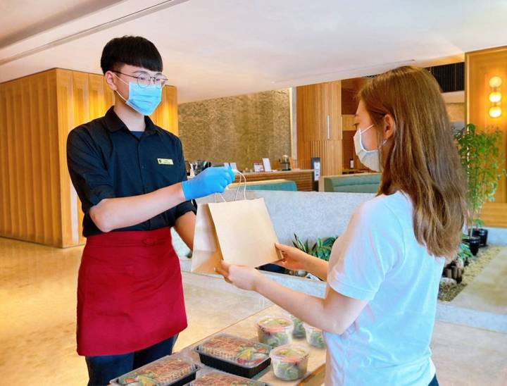 香格里拉台南遠東飯店推外帶菜單自由配  讓消費者依喜好天天換菜色,預購餐券再打折 @YA !野旅行-吃喝玩樂全都錄