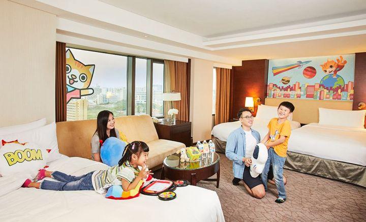 台南遠東香格里拉 結合台灣原創動漫電影推親子微度假 @YA !野旅行-吃喝玩樂全都錄
