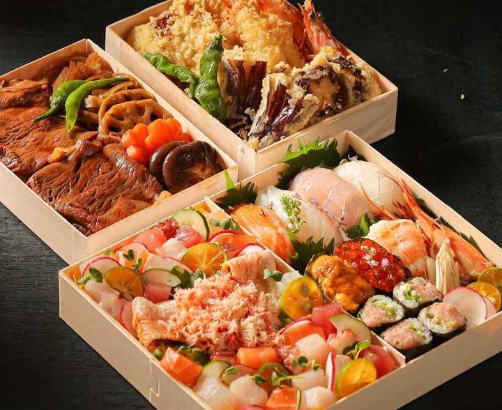 「晶華美食到你家」上新菜  A5和牛松葉蟹、明蝦星鰻與海膽,「日式海陸重箱」盛夏出擊 @YA !野旅行-吃喝玩樂全都錄