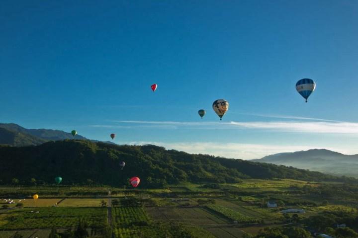 與鹿野高台熱氣球同步起飛  鹿野溫泉休閒農園 8/14正式營運 @YA !野旅行-吃喝玩樂全都錄