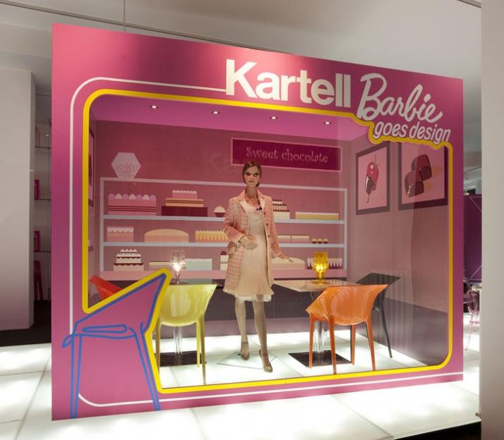 Barbie goes design  Yatzer