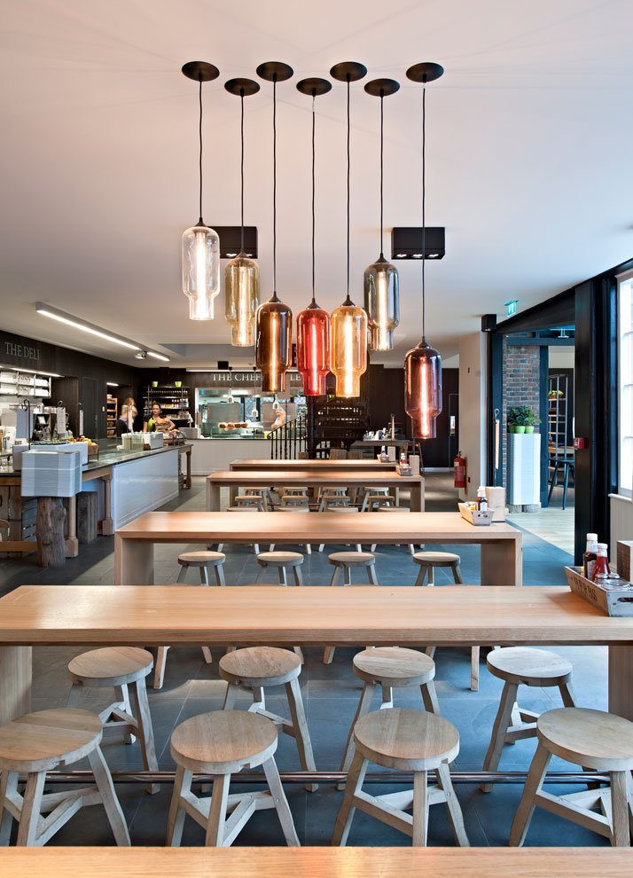 The Redesigned Coach House Restaurant Of Hatfield House