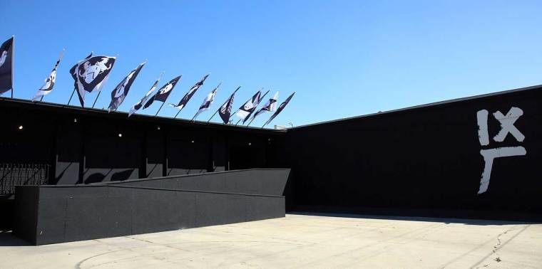 La 14ème usine, entrée principale. Photo de Gloria Yu.