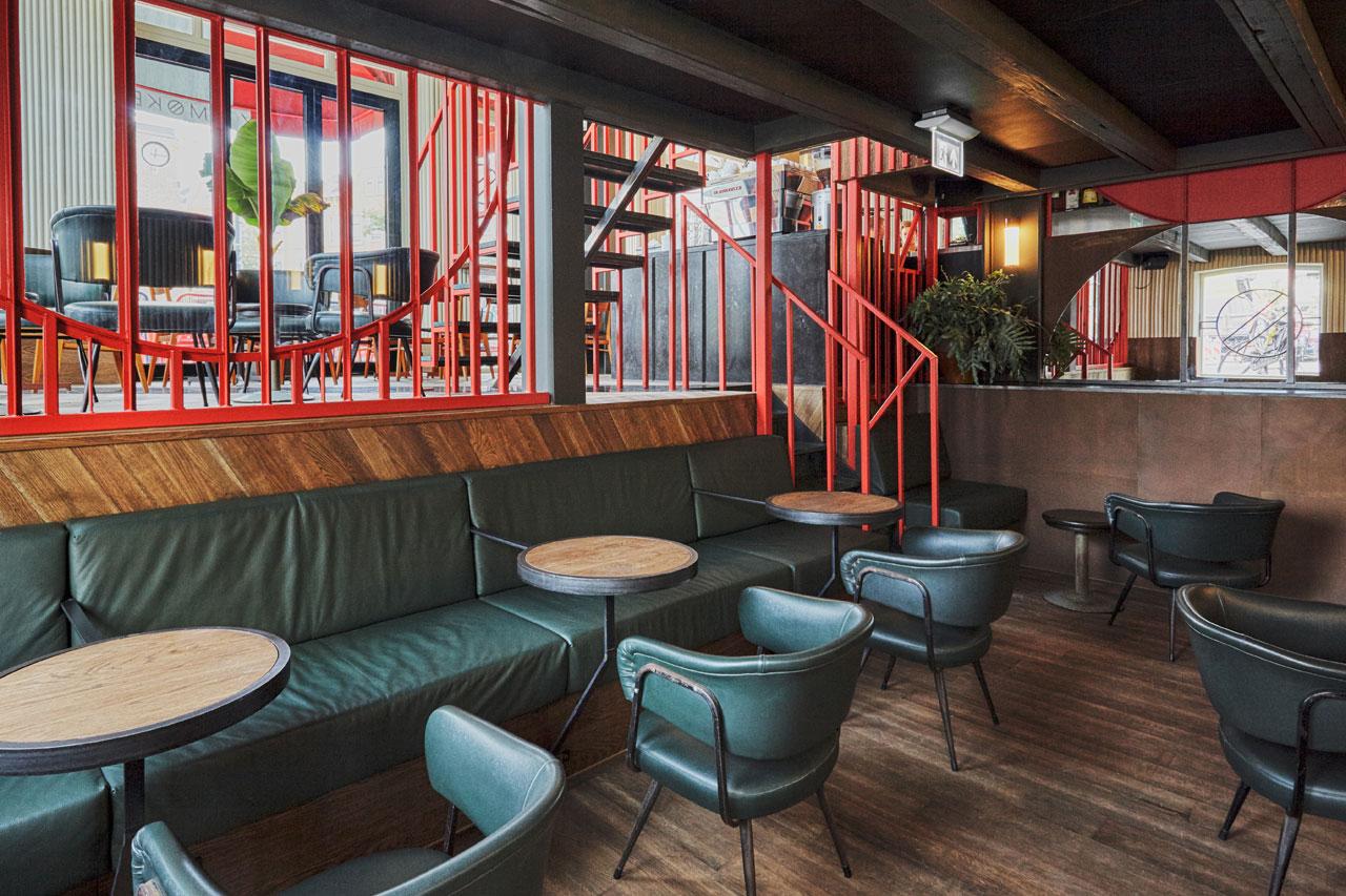 Holy Smoke Bar  Grill in Rotterdam by Studio Modijefsky  Yatzer