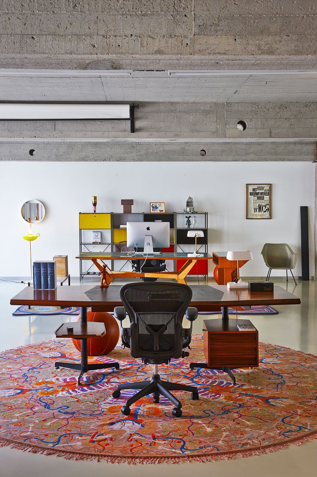 desk chair mat for carpet back support office chairs an objective canvas: the idiosyncratic loft of studio job in antwerp | yatzer
