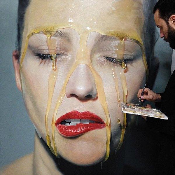 Hyperrealism Meets Surrealism In Mike Dargas Seductive