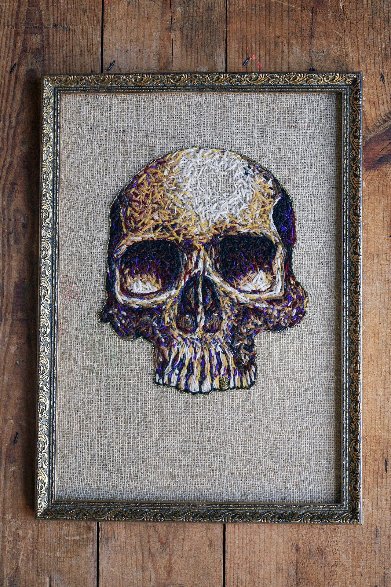 Stitched Images Embroidered Fiber Art by Danielle Clough