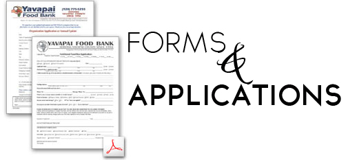 Volunteer and Food Box Applications Yavapai County Food Bank