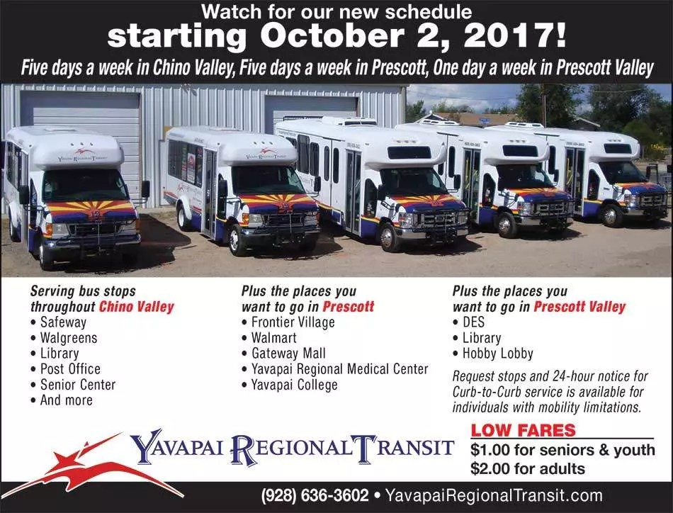 New bus routes coming in October, 2017