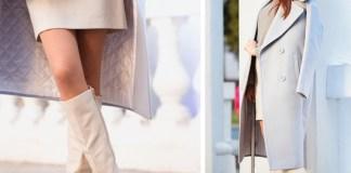 Бежевые зимние сапоги из натуральной кожи бренда BASSIRIANA + обзор