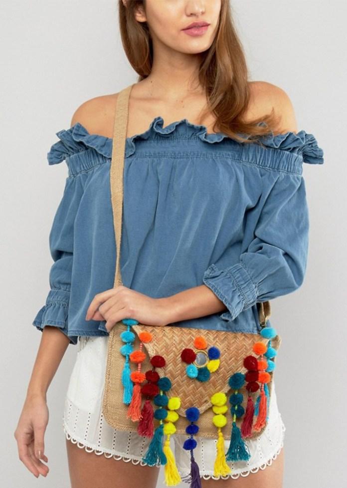 Соломенные сумки – летний тренд