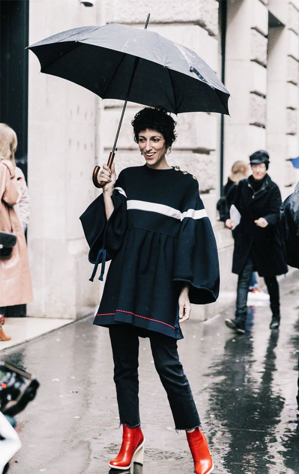 Outfits for rainy weather 9