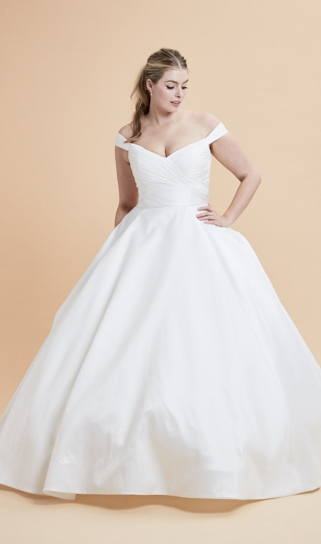 Свадебные платья 2017 для полных девушек