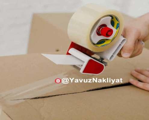 Eşya paketleme depolama evden eve nakliye taşımacılık