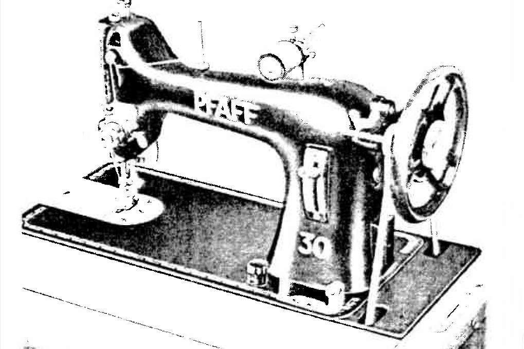 Pfaff 30 sewing machines parts