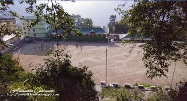 Tashi Namgyal Academy Football Ground