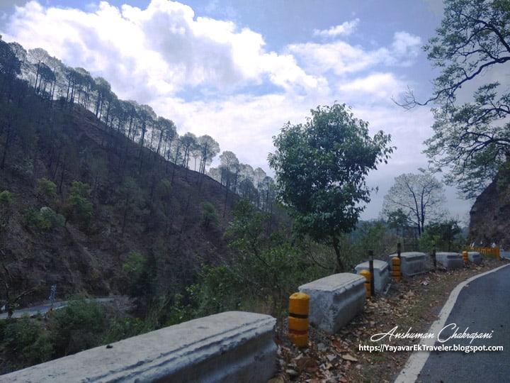 Way to Nainital