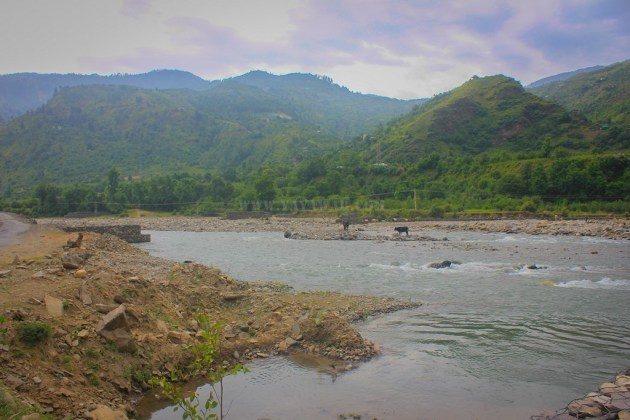 Near Pabbar River