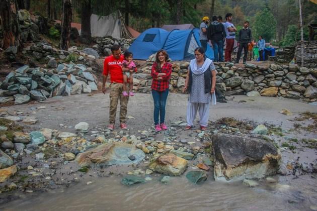 From Left to Right - Sany, Mitthi, Shikha Bhabhi and Shikha
