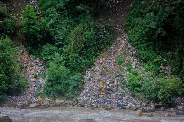 The truth of garbage disposal at Kasol