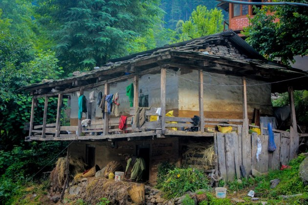 A house on traditional architecture