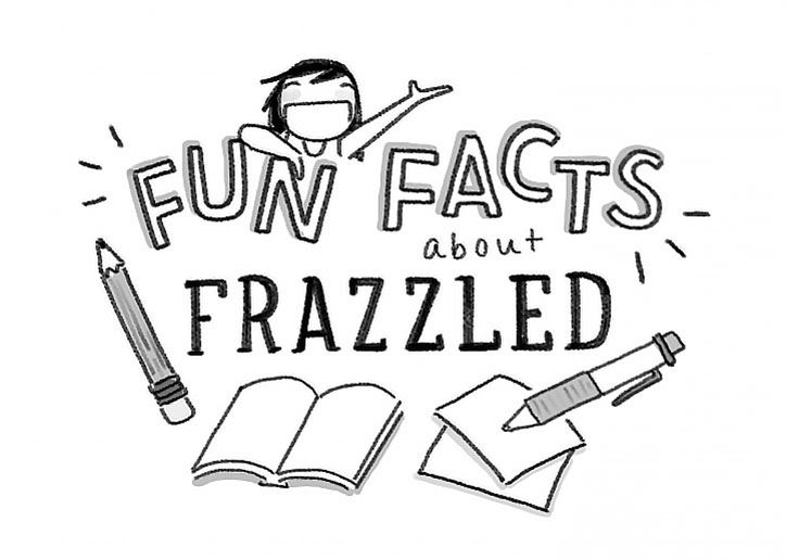 Booki Vivat Shares 5 Illustrated Facts about Frazzled