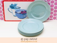 Small Dinner Plates & Glidden Matrix Turquoise Small ...