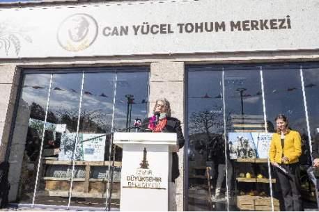 İzmir Can Yücel Tohum Merkezi Açıldı     Esmeri Alev Ekebaş