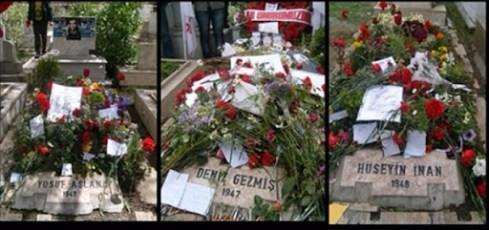 O Gece Karşıyaka Mezarlığı'nda... Yaşar Seyman(Cumhuriyet)