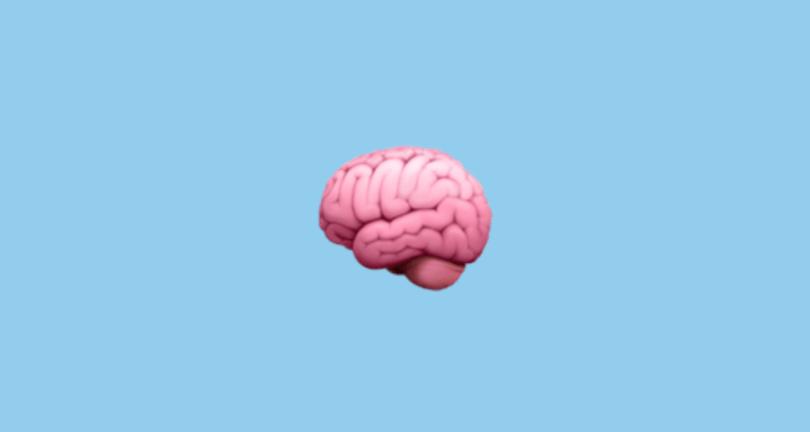Beyin Emojisi