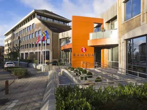 Best hotel to get free loyalty program reward nights in Brussels : Hotel Ramada Brussels Woluwe