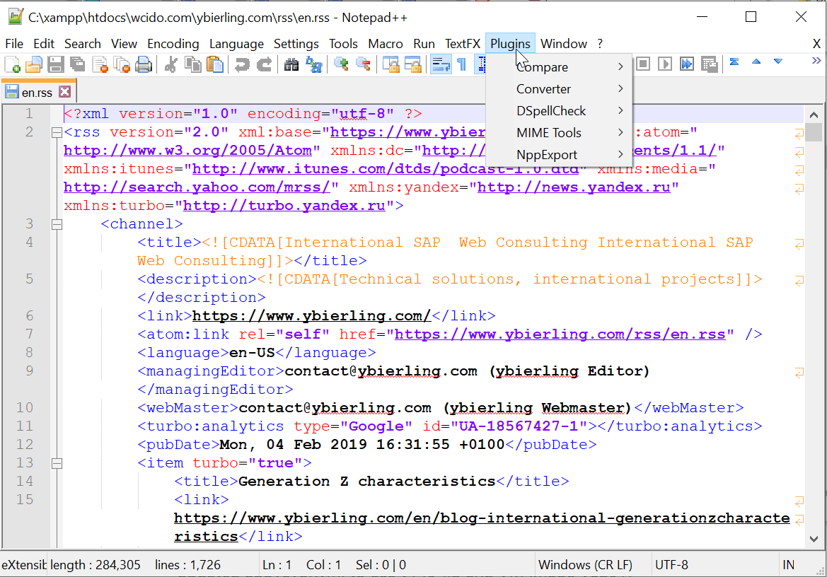 How to add back the Notepad++ missing plugin manager?