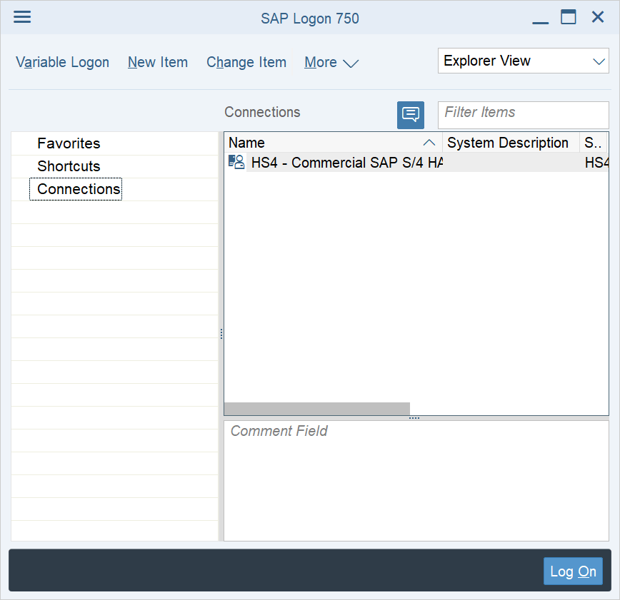 Add server in SAP GUI 750 in 3 easy steps