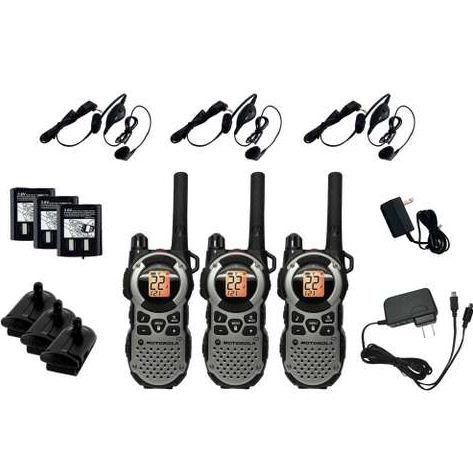 Motorola MT352TPR Waterproof Talkabout 2-Way Radio With 22