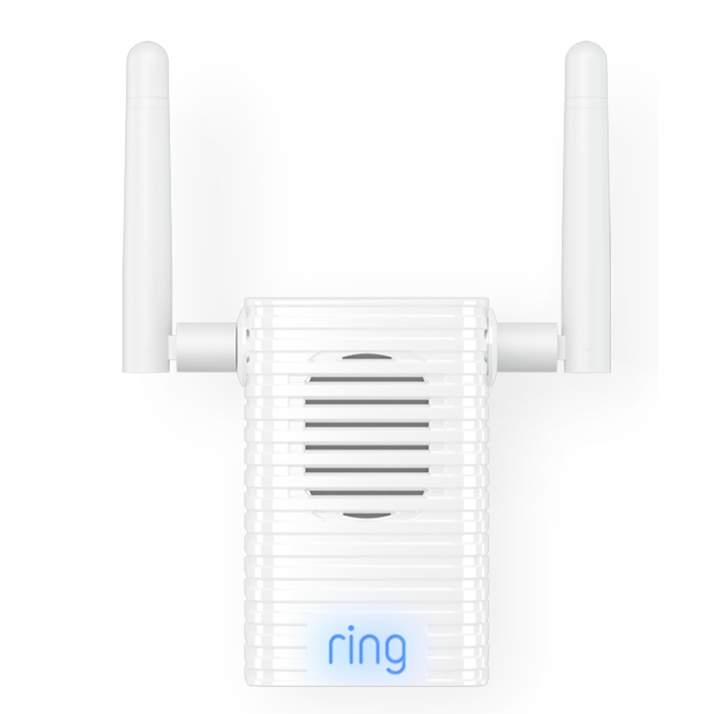 Ring 8AC1P6-0EN0 Wi-Fi Extender And Indoor Chime Pro White