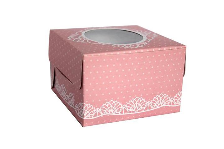 Boxboard Packaging For Cake Custom Size Printed Logo Shaped