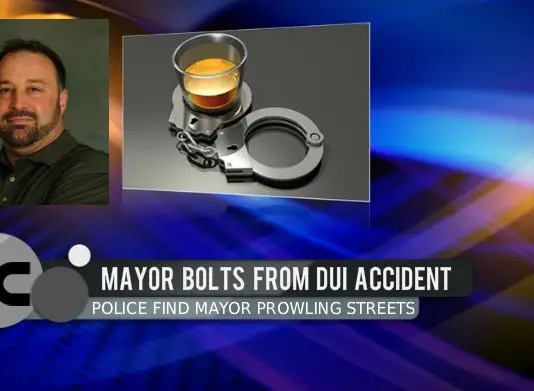 Mayor Arrested for DUI (Mike Ciach)