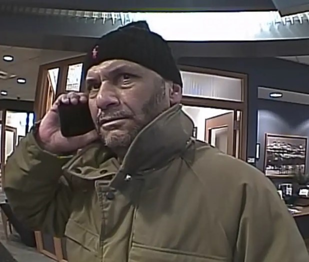 Photo: Philadelphia FBI - BB&T Bank Robbery Suspect