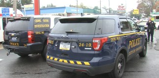 City of Chester Police Crime Scene Investigation & police cruiser. (yc.news/file photo)
