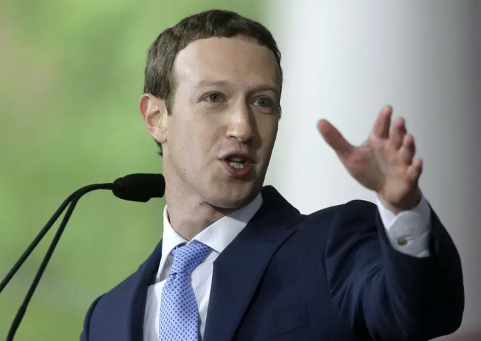 "FILE – In this May 25, 2017, file photo, Facebook CEO Mark Zuckerberg delivers the commencement address at Harvard University in Cambridge, Mass. Zuckerberg says his ""personal challenge"" for 2018 is to fix Facebook. Zuckerberg wrote in a post Thursday, Jan. 4, 2018, that he now wants to focus on protecting Facebook users from abuse, defending against interference by nation-states and ""making sure that time spent on Facebook is time well spent."" (AP Photo/Steven Senne, File)"