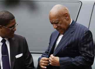 Bill Cosby arrives for a pretrial hearing in his sexual assault case, Thursday, March 29, 2018, at the Montgomery County Courthouse in Norristown, Pa. (AP Photo/Matt Slocum)