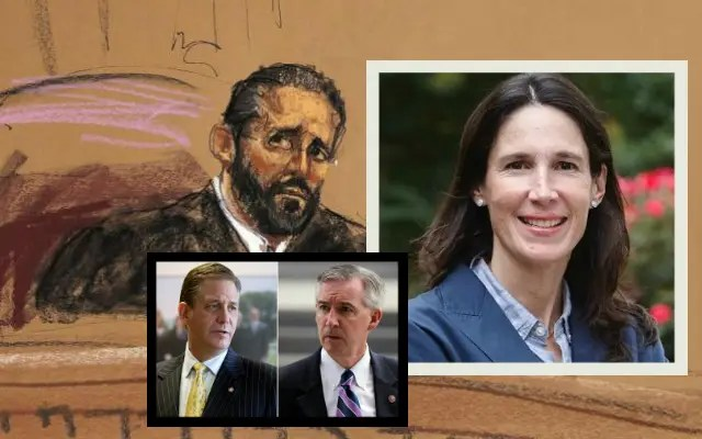 Judge Steven T. O'Neill / District Judge Maureen Coggins / Former Montgomery County District Attorney Bruce Castor / Montgomery County District Attorney Kevin R. Steele (YC.NEWS)