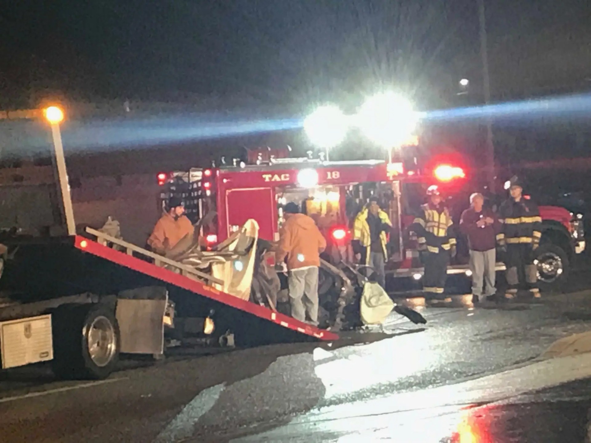 Two teenagers killed in car accident on Christmas Eve in Folsom, Delaware County.