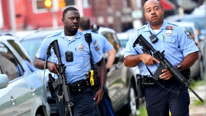 Maurice Hill, accused of shooting 6 Philadelphia cops was