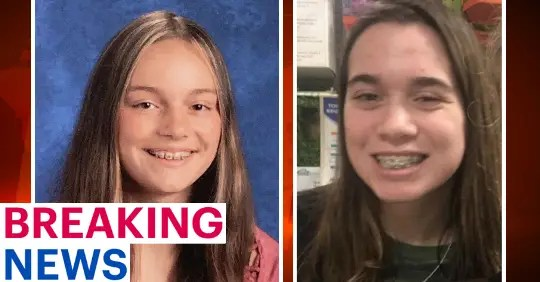 Police in Delaware County are desperately searching for two girls