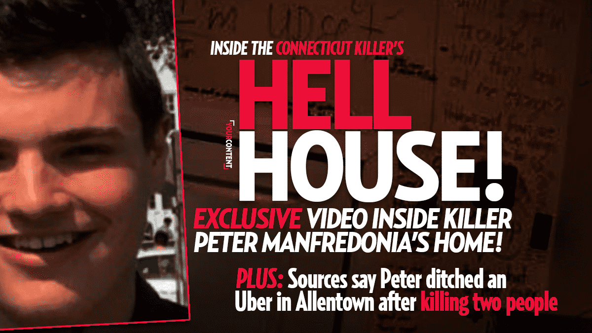 VIDEO of Dorm Belonging to Killer Peter Manfredonia Reveals Evil Intent: Last Seen in PA